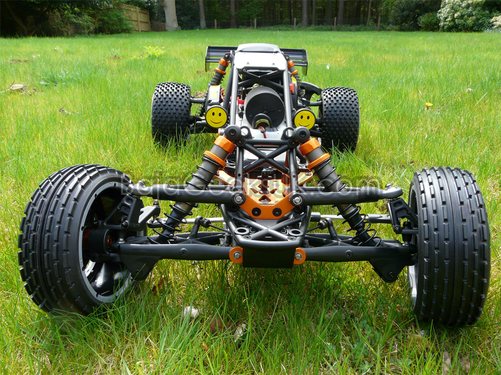 how to start hpi baja